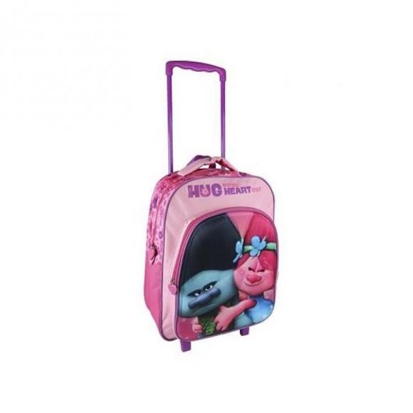 767cbf7fca Σχολική Τσάντα 3D με Ρόδες Trolls 361